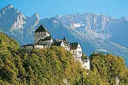 The castle of Vaduz - icon of the country