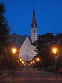 St. Laurentius, the parish church of Schaan