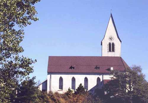 Picture of Berndern church, Liechtenstein