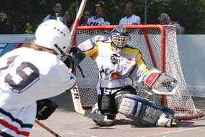 The Inline hockey tournament in Schellenberg