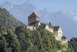 The castle of Vaduz, icon of the country